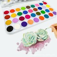 Watercolor Cakes Set 36 Colors Painting Material Art Artist  Paint Designer Tool