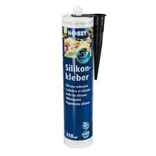 Hobby Silikonkleber, Kartusche, schwarz, 310 ml
