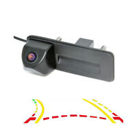Dynamic Trajectory Track Rearview Trunk Handle Camera For Audi A1 Skoda Roomster