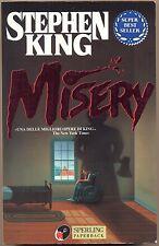 STEPHEN KING - MISERY  - SPERLING KUPFER