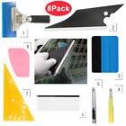 8x Car Window Tint Tools Kit Scraper Squeegee For Auto Film Tinting Installation
