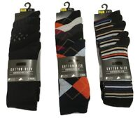 Top Store Men's 5 Pairs Cotton Rich Socks Reinforced Heel & Toe RRP £12 Next Day