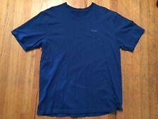 Men's XL REEBOK Crew Neck Short Sleeve T-Shirt Royal Blue