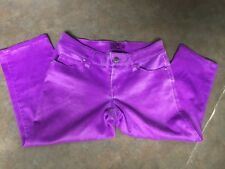 Juniors TRIPP NYC DAANG GOODMAN Purple Long Shorts Size 3 (CON16)