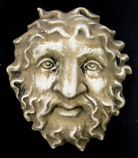 Greek Face Wall Plaque Sculpture Home Decor Mythical Art
