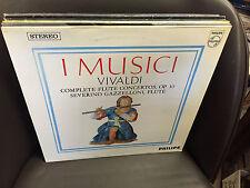 VIVALDI I Musici Flute Concertos vinyl LP EX Severino Gazzelloni PHILIPS German