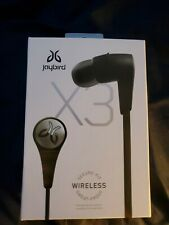 Jaybird X3 Sport Bluetooth Headset - Blackout - Charger & all accessories