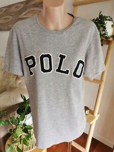 Polo Ralph Lauren grey T-shirt featuring Polo logo Size S