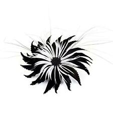 Goose & biot feather flower for millinery fascinators wedding hats FM021