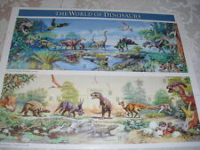 WORLD OF DINOSAURS POSTAGE STAMPS