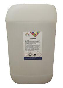Toluene Methylbenzene Toluol Solvent Paint Thinner Cleaner Silicone Remover -25L