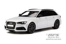 Audi rs6 c7 Avant Performance-année de fabrication 2017-Blanc - 1:18 GT Spirit 159