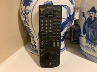 Sony RMT-V130 VTR TV Remote Control Works Great Wow