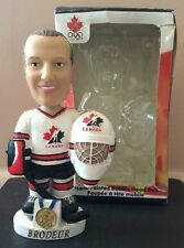 Martin Brodeur Canada Olympics Gold Medal Bobblehead, New Jersey Devils CHIPPED