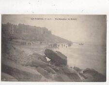 Le Portel Un Coucher de Soleil France 1927 Postcard 792a