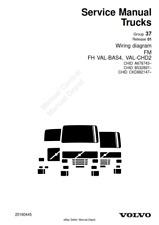 VOLVO TRUCKS WIRING DIAGRAM FM, FH VAL-BAS4, VAL-CHD2 2008 EDITION PDF