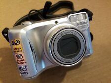 Nikon Coolpix 4800 ED 4.0MP Digital Camera 8.3x Zoom E4800 2CR5 EN-EL1 #3615320