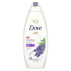 Dove Lavender Oil and Chamomile Body Wash, 22 oz.