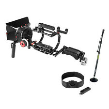 PROAIM DSLR Rig Shoulder Mount Movie Kit Support with Matte box fr Camera Canon