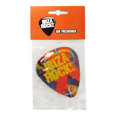OFFICIAL Ibiza Rocks Logo Car Air Freshener 10 Year Anniversary Plectrum RRP £10