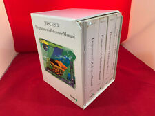 Acorn RISC OS 3 Programmer's Reference Manuals (PRMs) Used