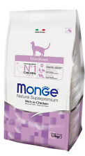 Monge Natural Superpremium Sterilised 10 kg Per Gatti