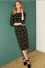 Brand New NEXT Geometric Print Dress Size 10 UK