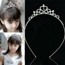 2 x pack 4 hair bendies 4.8cm metal sleepies floral slides hearts princess grip