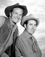 OLD CBS TV RADIO PHOTO TV Series Rawhide with Eric Fleming & Sheb Wooley 2
