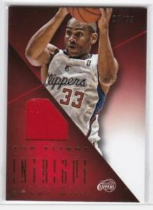 2012-13 Grant Hill #/99 Panini Intrigue Top Flight Uniforms Clippers