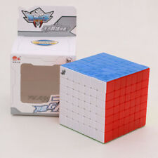 Cyclone Boys FeiYing 7x7x7 Speed  Magic Cube Twist Puzzle Scheme Toy Multi-Color