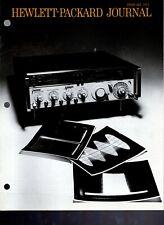 Original Hewlett Packard Journal February 1973 Vol. 24 No.6