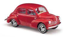Busch 46523 - 1/87 / H0 Renault 4Cv (1958) - Rot - Neu