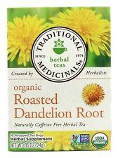 Traditional Medicinals - Organic Roasted Dandelion Root Tea - 16 Tea Bags
