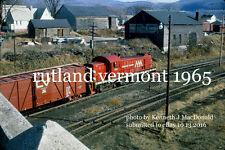 Vermont Railway 401 Rutland Vt 1965