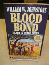 Death in Snake Creek by William W. Johnstone (1994, Paperback) 1st Printing