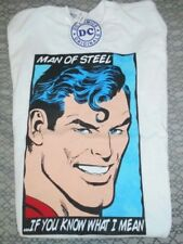 Superman Mens Small Shirt (Man Of Steel...If You Know What I Mean)
