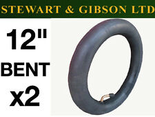 "12"" INCH INNER TUBE BENT VALVE PRAM BUGGY STOLLER PHIL TEDS QUINNY BUZZ x2 (TWO)"