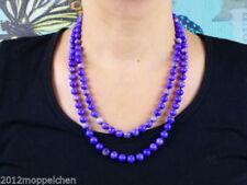 Korallen-gefärbte Echtschmuck-Halsketten