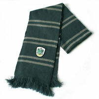 Harry Potter Slytherin Thicken Wool Knit Scarf Wrap Green Warm Costume Cosplay