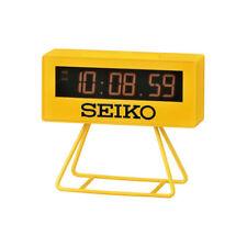 Seiko  Sports Timing Alarm Clock  QHL062Y-NEW