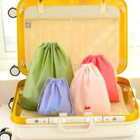 Waterproof Shoe Storage Bag Travel Laundry Clothes Drawstring Pouch Organizer