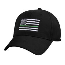 TGL Support BORDER PATROL PARK RANGERS THIN GREEN LINE Black Baseball Hat Cap