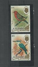 oiseaux birds aves  vogel **MNH  Aitutaki 326/27