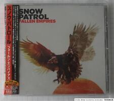 Snow Patrol-Pièges Empires +1 bonus Japon CD OBI Nouveau UICP - 1131