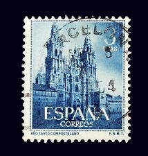 Spanish Stamp /1954  / Holy Year of Compostela  Book Value 5.82  Used