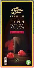 Freia Norwegian Raspberry Chocolate 70% Cocoa 100g Bar Slim Free Shipping