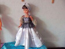 Poupée Cathie de Bella  tenue Haute couture  unique inspirée de Jeanne Lanvin