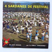 4 sardanes de festival de JUAN MORATA Cobla Barcelona DM 1724