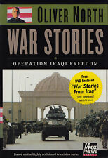 WAR STORIES: Operation Iraqi Freedom w/DVD by Oliver North 2003 HC 1Ed SIGNED